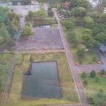 眼下の駿府公園は緑が最高にキレイ